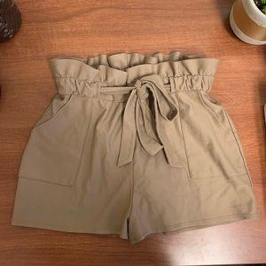 Express paper bag shorts